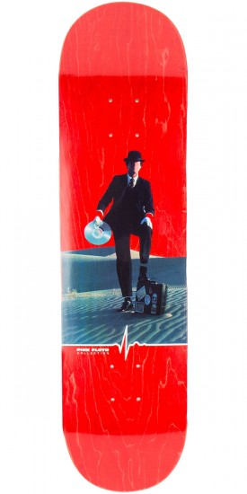 """Habitat Invisible Man Skateboard Deck - 8.125"""" - Red Stain"""