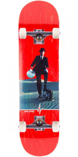 """Habitat Invisible Man Skateboard Complete - 8.125"""" - Red Stain"""
