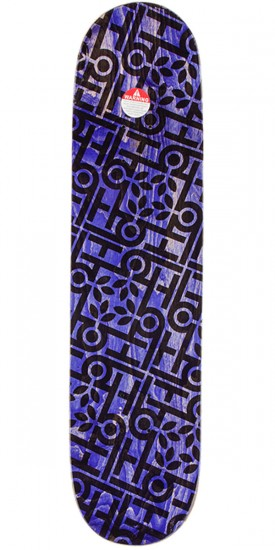 "Habitat Marius Seacraft Skateboard Deck - 8.125"" - Purple Stain"