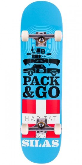 """Habitat Silas Baxter-Neal Pack and Go Skateboard Complete - 8.125"""""""