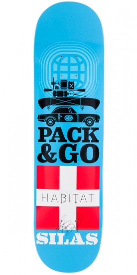 """Habitat Silas Baxter-Neal Pack and Go Skateboard Deck - 8.125"""""""