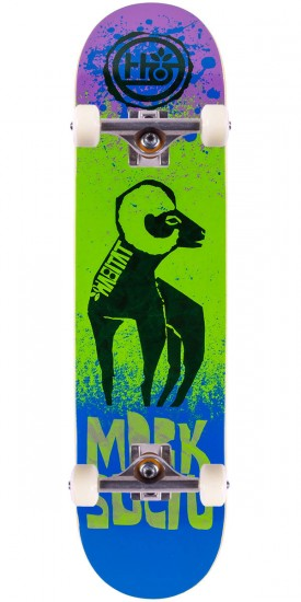 """Habitat Suciu Tooth And Claw Skateboard Complete - 7.75"""""""