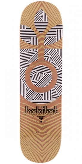 Habitat Terra Form Skateboard Deck - Brown - 8.125""