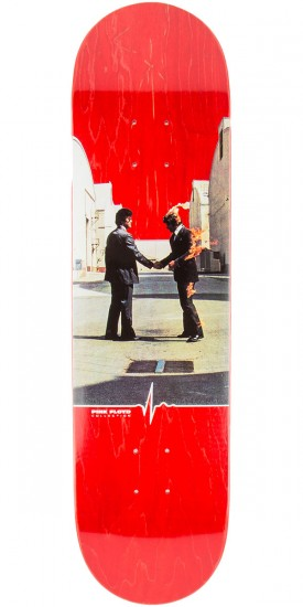 """Habitat Wish You Were Here Skateboard Deck - 8.25"""" - Red Stain"""