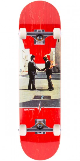 "Habitat Wish You Were Here Skateboard Complete - 8.25"" - Red Stain"