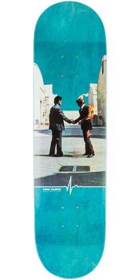 "Habitat Wish You Were Here Skateboard Deck - 8.25"" - Teal Stain"