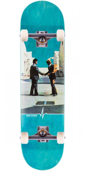 """Habitat Wish You Were Here Skateboard Complete - 8.25"""" - Teal Stain"""