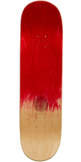 "Habitat X Twin Peaks Damn Good Coffee Skateboard Complete - 8.75"" - Red Stain"