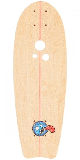 Holesom Crouton Longboard Complete - Natural/Raspberry
