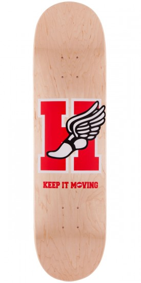 Hopps H-Winged Foot Skateboard Deck - 8.125""