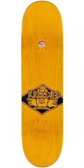 Krooked Arketype Skateboard Complete - Orange - 8.25""