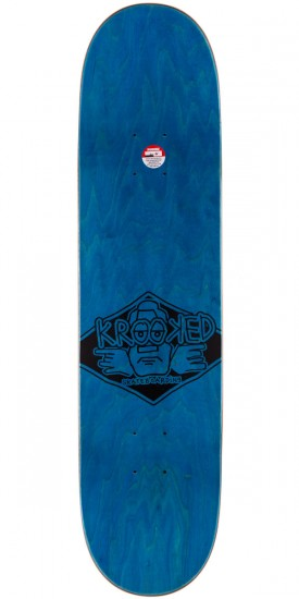 Krooked Arketype Skateboard Deck - Blue - 7.75""