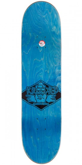 Krooked Bobby Worrest City Racers Skateboard Deck - 8.18""