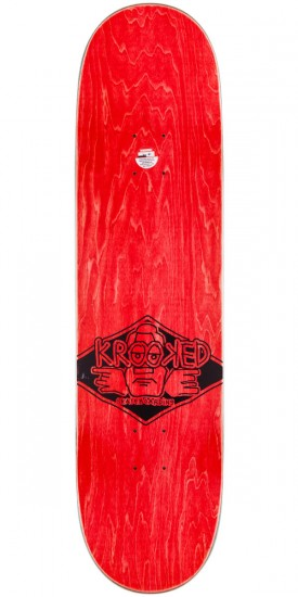 Krooked Bobby Worrest Comburo Skateboard Complete - 8.25""