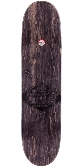 Krooked Bobby Worrest Sk8Loco Lowrider Skateboard Complete - Purple Stain - 8.06""