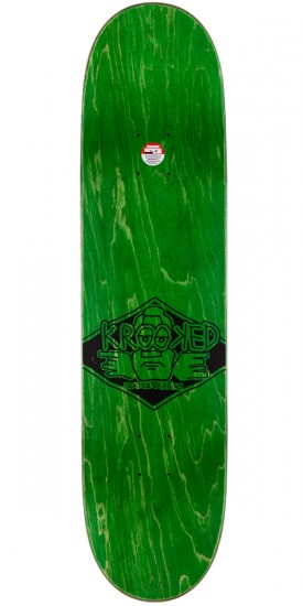 """Krooked Bobby Worrest Sk8Loco Lowrider Skateboard Complete - Red Stain - 8.06"""""""
