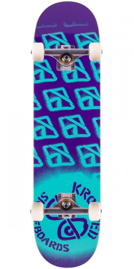 """Krooked Diffused 2 Skateboard Complete - 7.75"""""""
