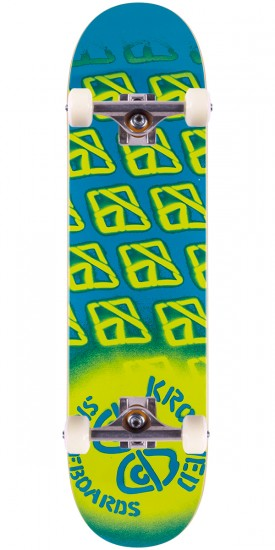 """Krooked Diffused 2 Skateboard Complete - 8.06"""""""