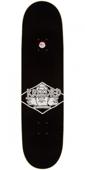 """Krooked Diffused 2 Skateboard Complete - 8.5"""""""