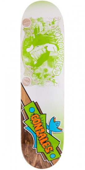Krooked Mark Gonzales Comburo Skateboard Deck - 7.9""