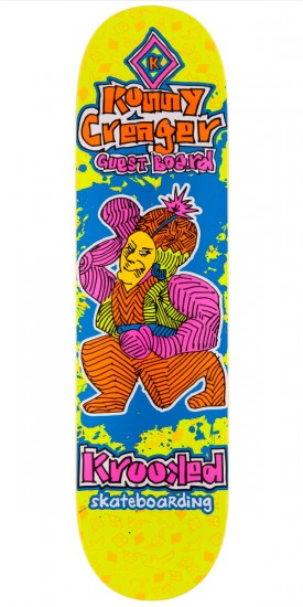 """Krooked Ronnie Creager Guest Skateboard Deck - 8.06"""""""