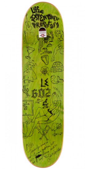 Life Extention Tave Capsule Skateboard Deck - 8.38""