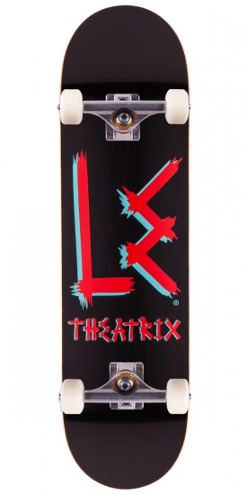Life Extention Theatrix Logo Skateboard Complete - 8.25""