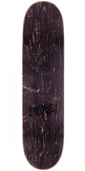 Lurkville Monster Font Skateboard Deck - Yellow - 8.3""