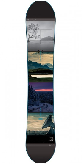 Nitro Team Exposure Gullwing Snowboard 2016