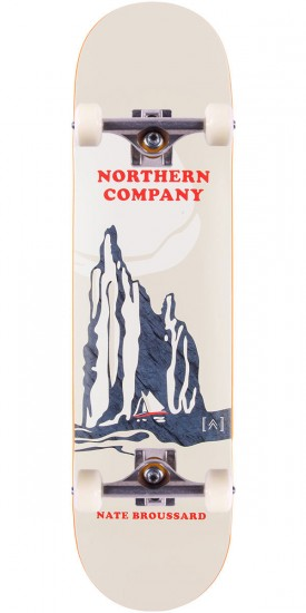 """Northern Co. Broussard Smoky Skateboard Complete - 8.125"""""""