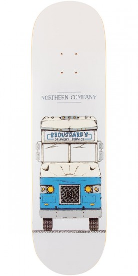 Northern Co. Broussard Truck Skateboard Deck - Blue - 8.5""
