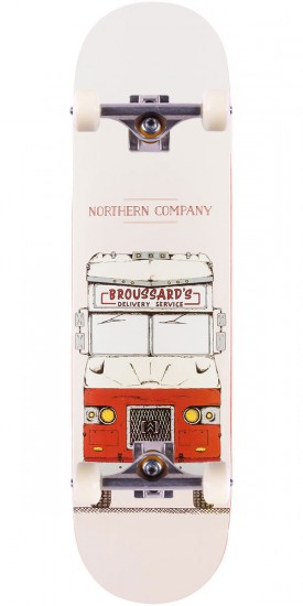 """Northern Co. Broussard Truck Skateboard Complete - Red - 8.25"""""""