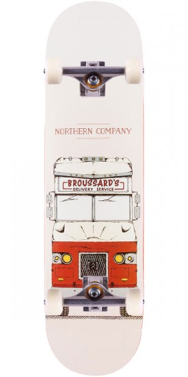 """Northern Co. Broussard Truck Skateboard Complete - Red - 8.0"""""""