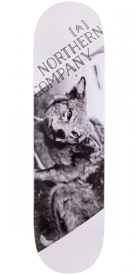 Northern Co. Wolf Skateboard Deck - 8.25""