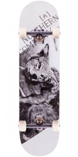 Northern Co. Wolf Skateboard Complete - 8.25""