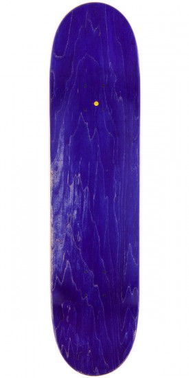 Oh My Logo Skateboard Deck - Black/Blue - 8.5""