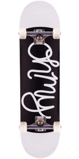 Oh My Logo Skateboard Complete - Black/White - 8.0""
