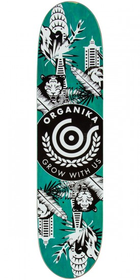 Organika Concrete Jungle Reed Skateboard Complete - 7.9""