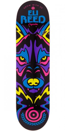 Organika Eli Reed Animal Instinct Skateboard Deck - 8.10""