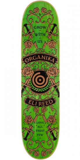 Organika Eli Reed Love All Skateboard Complete - 8.06""