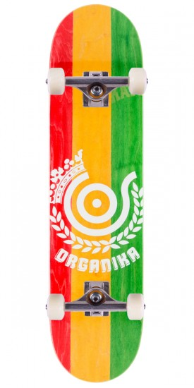 Organika New Price Point Skateboard Complete - 7.75""