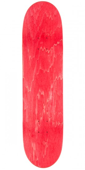 "Organika Price Point Skateboard Deck - 7.9"" - Red"