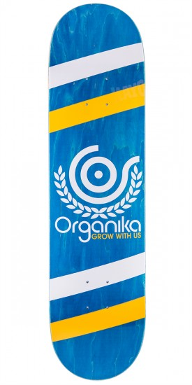 "Organika Price Point Skateboard Deck - 8.0"" - Blue"