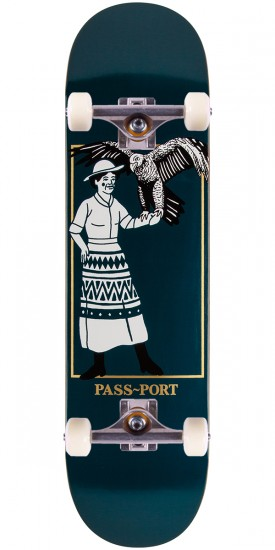 Passport Wild Women Her Eagles Skateboard Complete - 8.25""