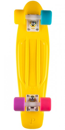 Penny Complete Skateboard - Candy Yellow