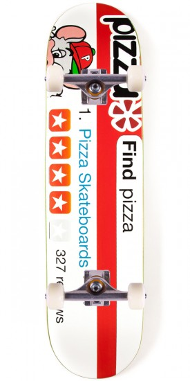 """Pizza Review Skateboard Complete - 8.125"""""""