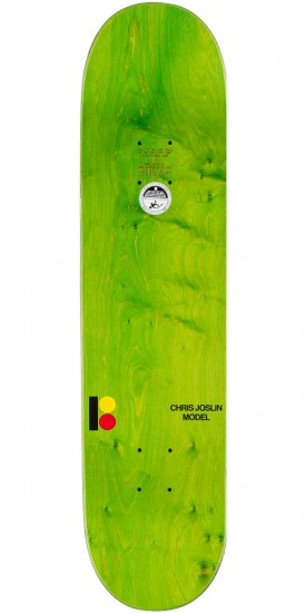 Plan B Chris Joslin MVP Skateboard Deck - 8.00""