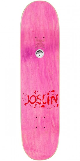 Plan B Chris Joslin Snikt Skateboard Deck - 8.25""