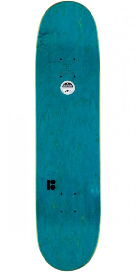 """Plan B Pudwill Connect Skateboard Deck - 7.8"""""""