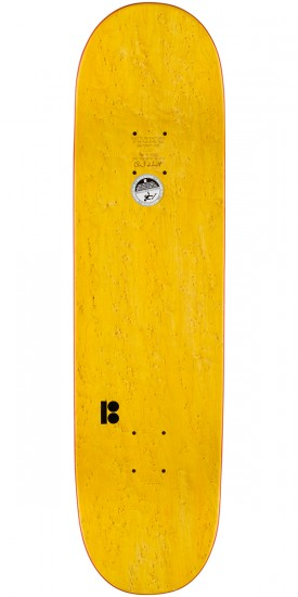 Plan B Pudwill Lines Skateboard Deck - 8.25""